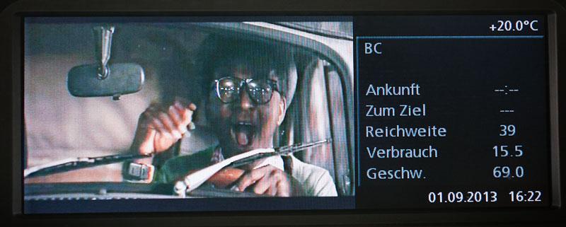 Bord-Monitor im BMW 760Li (E66 LCI) von Gregor ('Gregor1969')