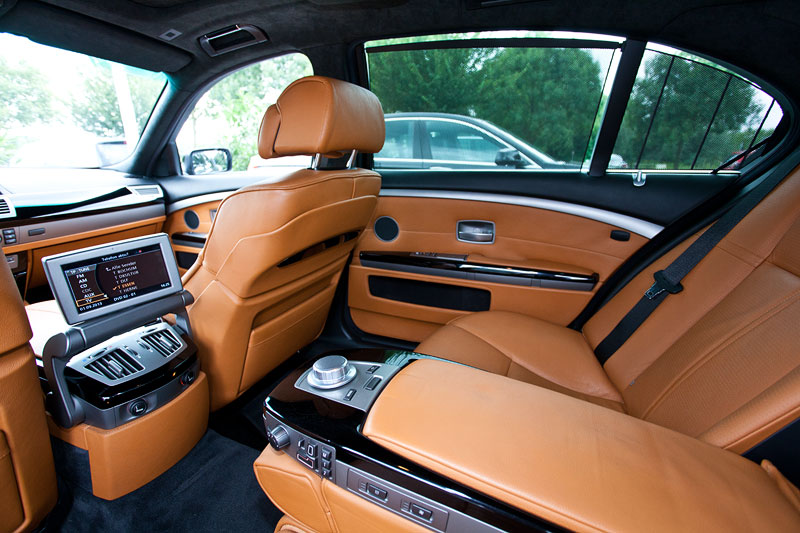 Blick in den Fond des BMW 760Li Individual (E66 LCI) von Gregor ('Gregor1969')