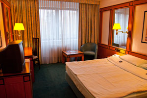 Doppelzimmer im Hotel Amadeus