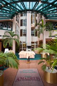 Hotel Amadeus, Lobby
