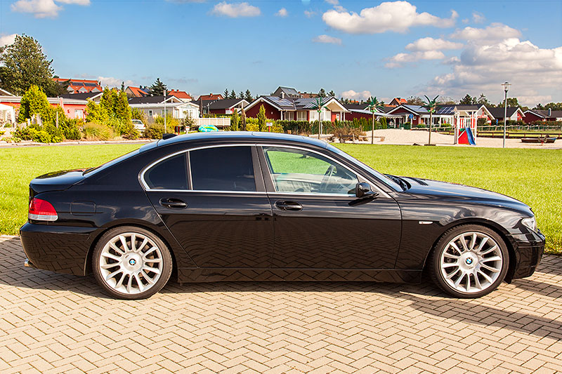 foto bmw 745i e65 auf bmw individual 20 zoll alu felgen. Black Bedroom Furniture Sets. Home Design Ideas