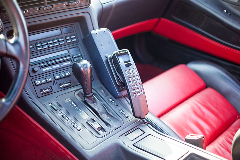BMW 850i (E31) von André ('erstens'), Mittelkonsole vorne