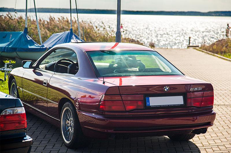 BMW 850i (E31) von André ('erstens') am grossen Goitzschesee