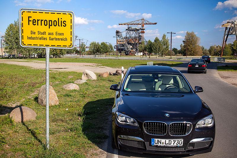 Ferropolis 'Ortseingangs'-Schild
