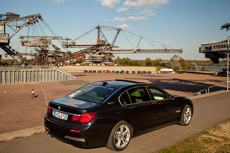 BMW 730Ld (F02 LCI) von Christian ('Christian') an der Ferropolis-Arena