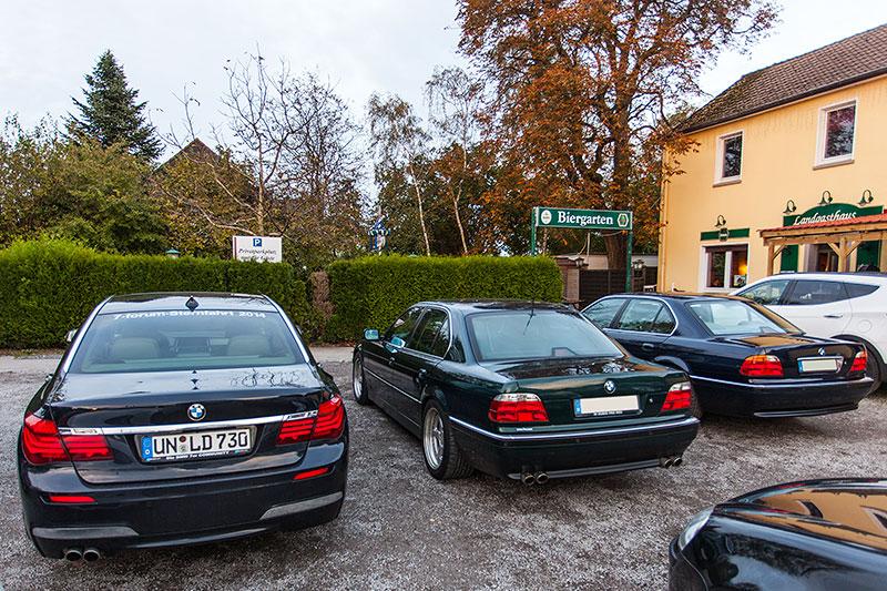 7er-Parken am Landgasthaus Brandenburg in Essen