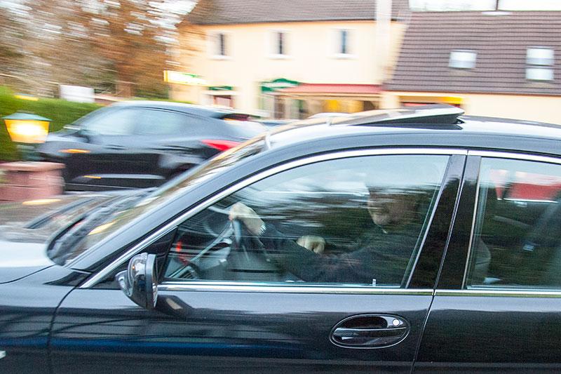 Dirk ('dirk750') in seinem BMW 760i (E65)