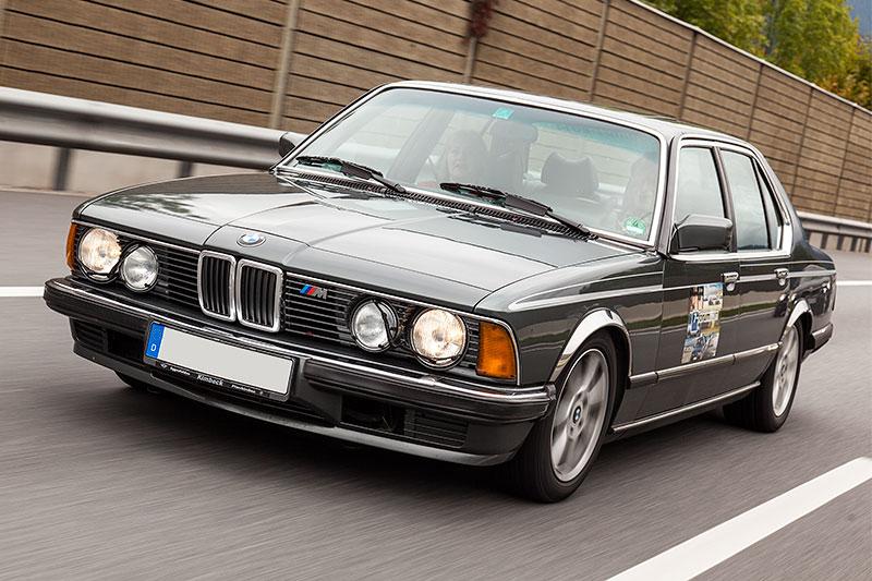 7-forum.com Sternfahrt zur Insel Albarella: Teilnehmerfahrzeug BMW 735i (E23) von Georg ('Georg 735i')