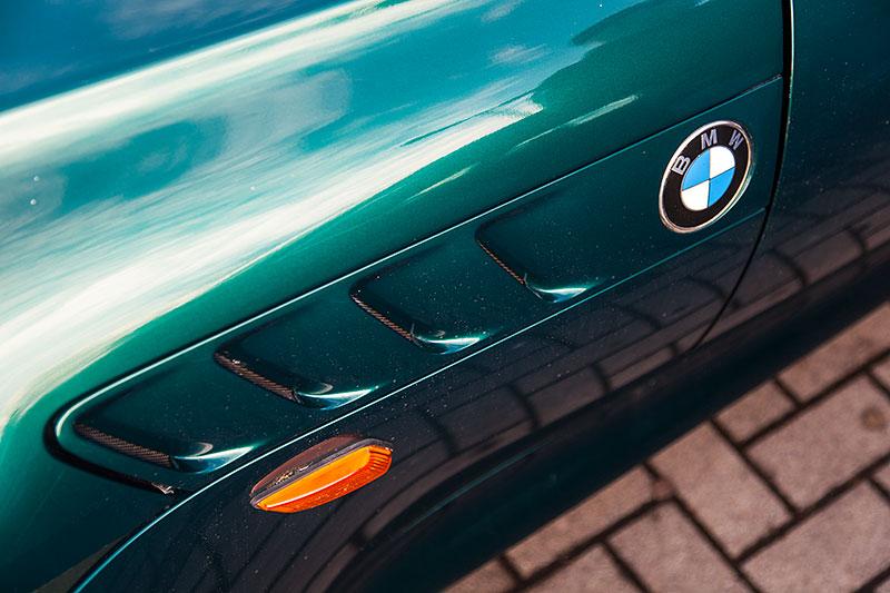 Neujahrs-Rhein-Ruhr-Stammtisch 2015: BMW Z3 1.8 von Ralf ('Metal Opa'), seitliche Kieme