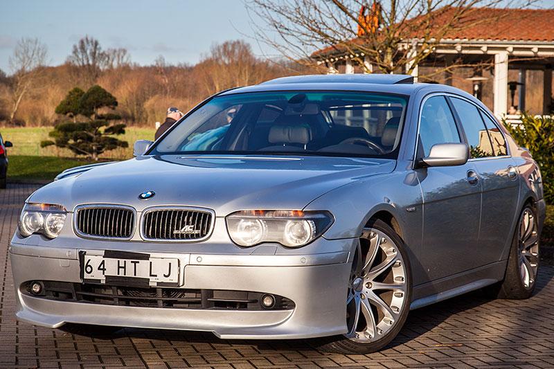 BMW 745i (E65), von Alain ('Alien') mit Frontschürze und AC Schnitzer Emblem im Kühlergrill