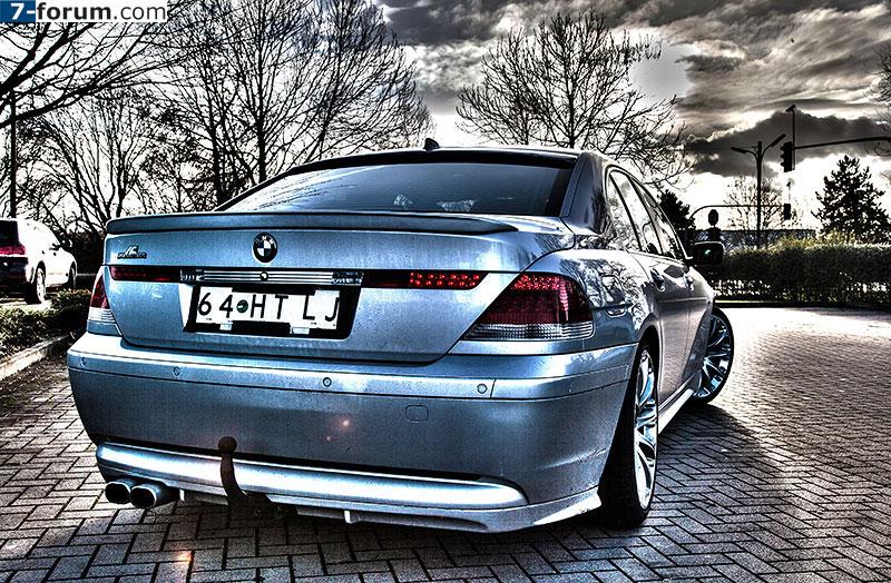 BMW 745i (E65), von Alain ('Alien'), als HDR Montage