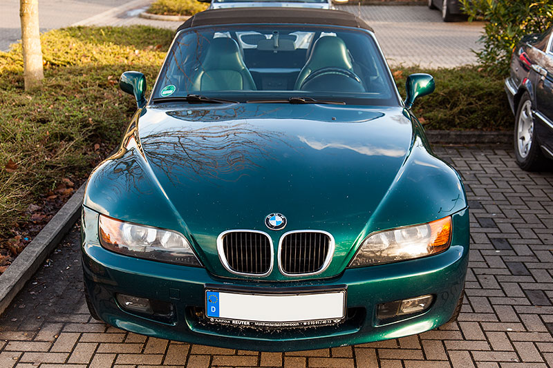 Neujahrs-Rhein-Ruhr-Stammtisch 2015: BMW Z3 1.8 von Ralf ('Metal Opa')