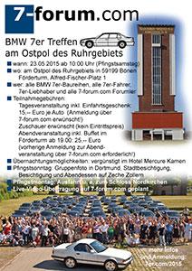 7-forum.com Jahrestreffen 2015 Flyer
