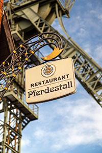 Restaurant 'Pferdestall' auf Zeche Zollern