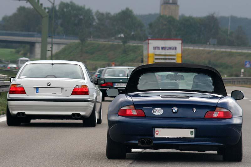 BMW Sternfahrt Konvoi nach Albarella