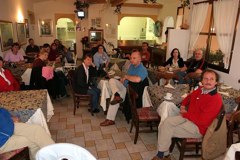 gemeinsames Frühstück auf Albarella