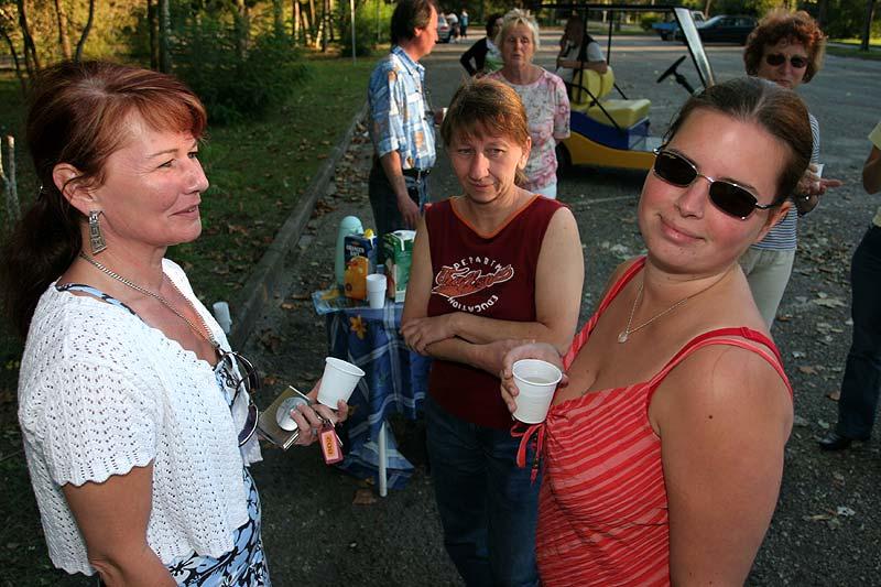 Jutta, Sabine und Melli