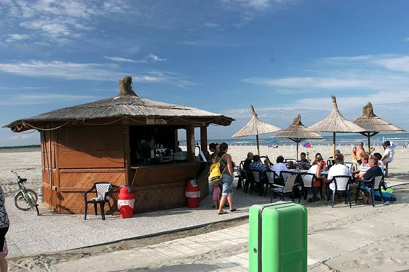 Kaffee-Bar am Strand von Albarella