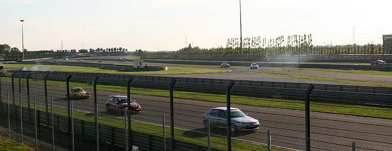 Rennstrecke des Adria International Raceways