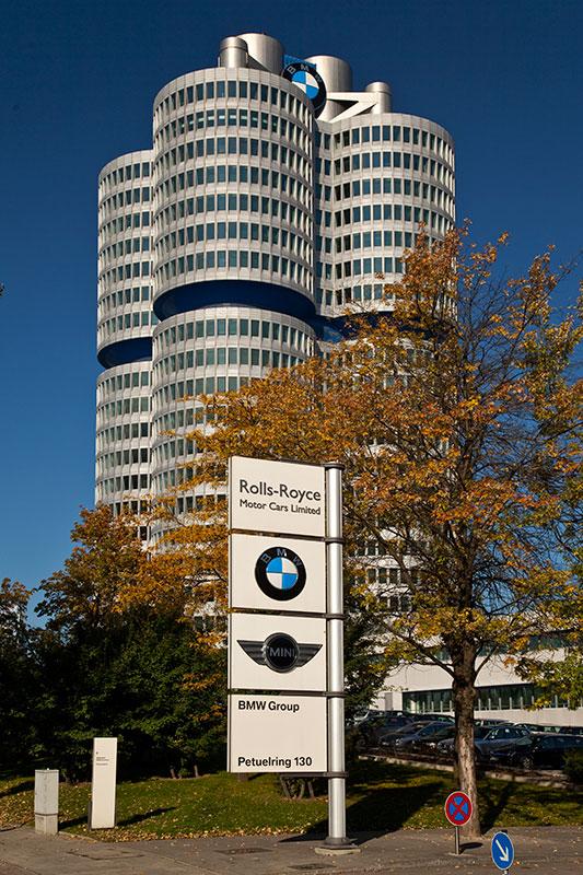 BMW Konzernzentrale 'Vierzylinder'