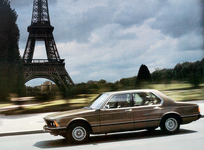 BMW 7er-Reihe, erste Generation (Modell E23) in Paris