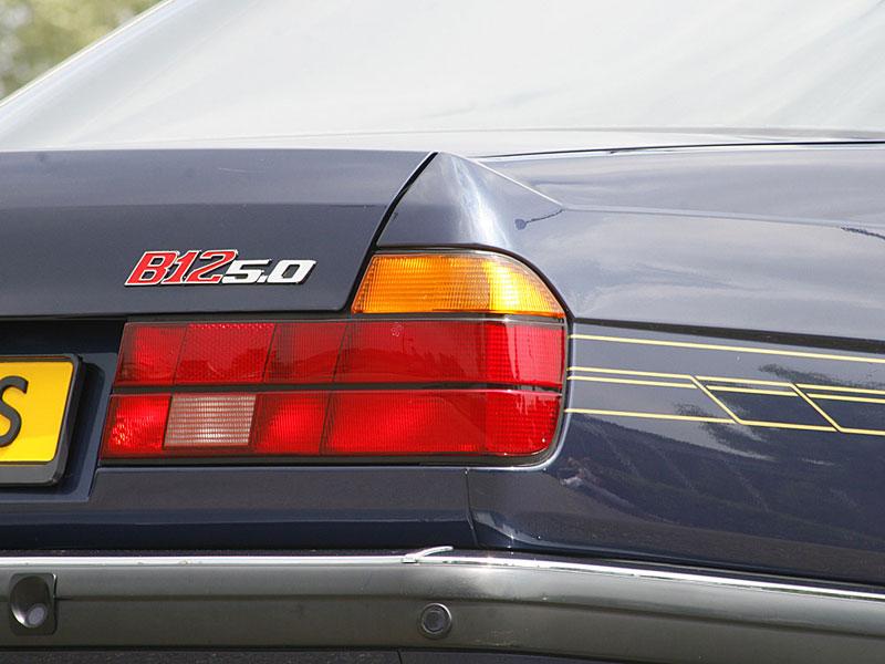 Martins BMW 750Li ist mit einem kompletten Alpina B12 5.0 Dekor nachgerüstet worden