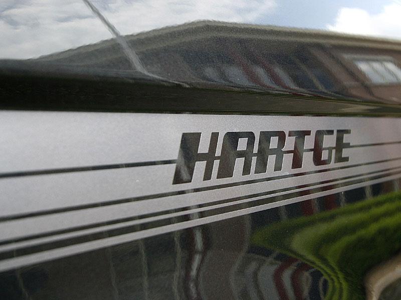 Hartge Decor Schriftzug auf dem BMW 750Li von Francois de Bukviel