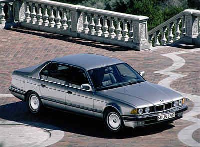 BMW 750iL Modell E32