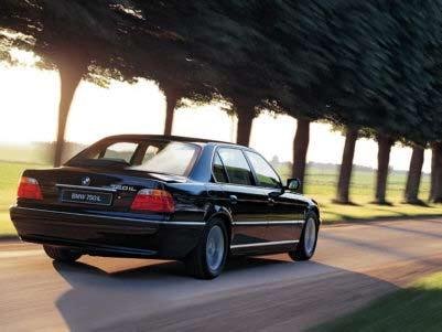 BMW 750iL E38 Modell 1999