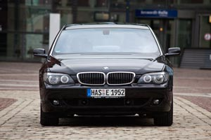 BMW 730d (E65) Individual 'One'. Frontansicht.