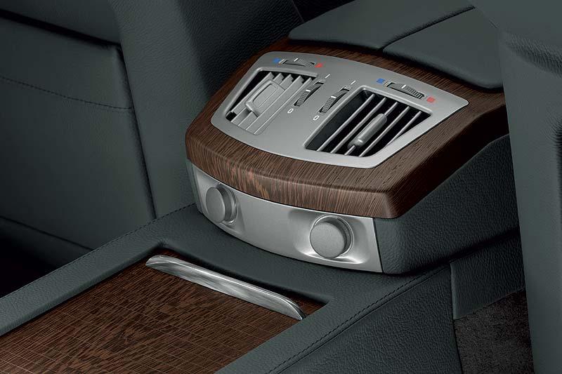Wertfach mit Griff aus poliertem Horn im BMW Individual 760Li
