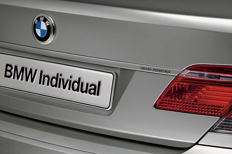 BMW Individual for Girard-Perregaux: BMW Individual 760Li