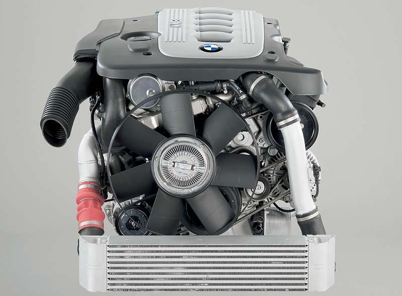 6-Zylinder Dieselmotor mit Aluminium-Kurbelgehäuse
