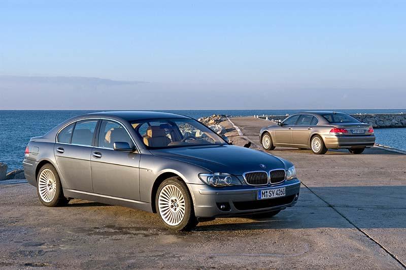 BMW 750i (E65) und BMW 750Li (E66), ab 4.2005