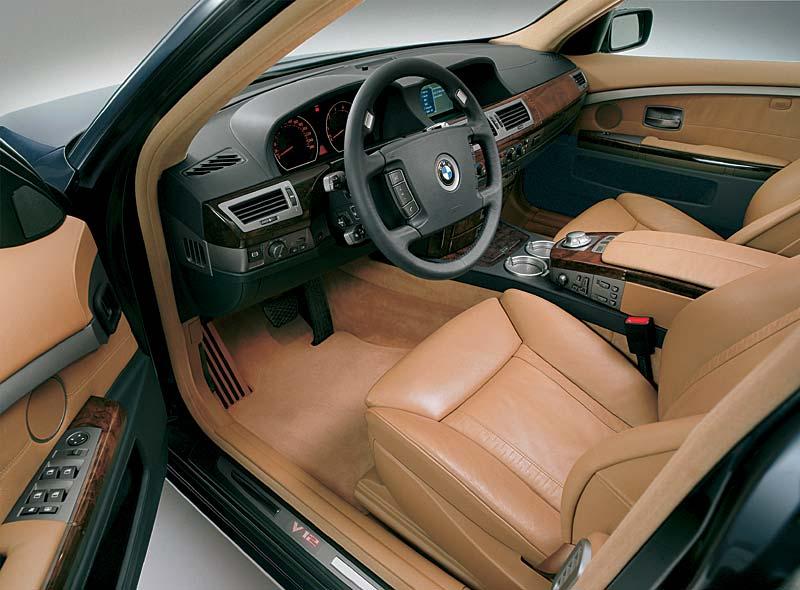 BMW 760Li Interieur vorne