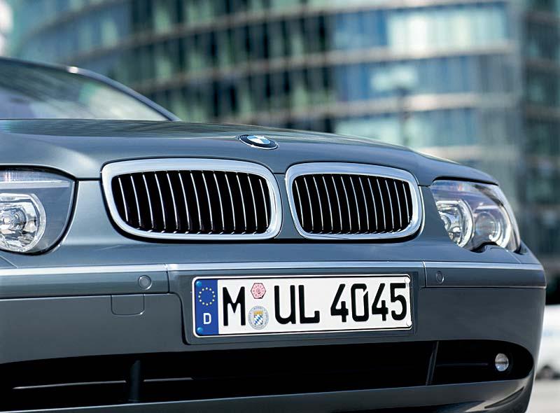 BMW 760Li Kühlergrill, Modell E66 (bis 4.2005)