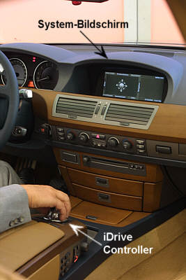 Bmw 7er Modell E65 Idrive Www 7 Forum Com