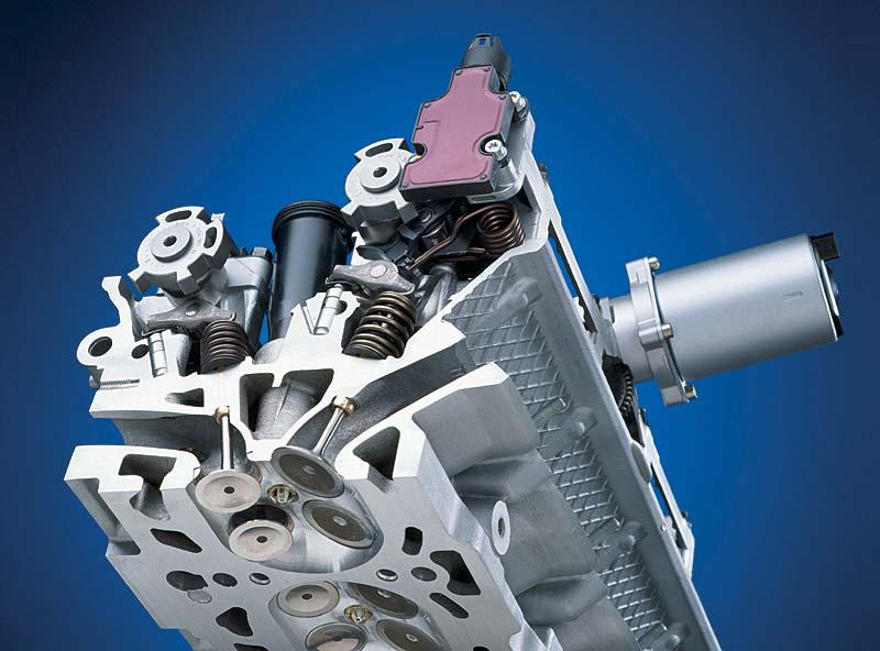 BMW V8 Motor mit vollvariabler Ventilsteuerung Valvetronic: Zylinderkopf