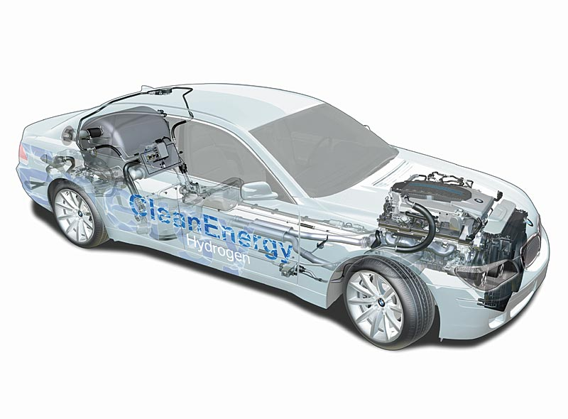 Technik BMW Hydrogen 7