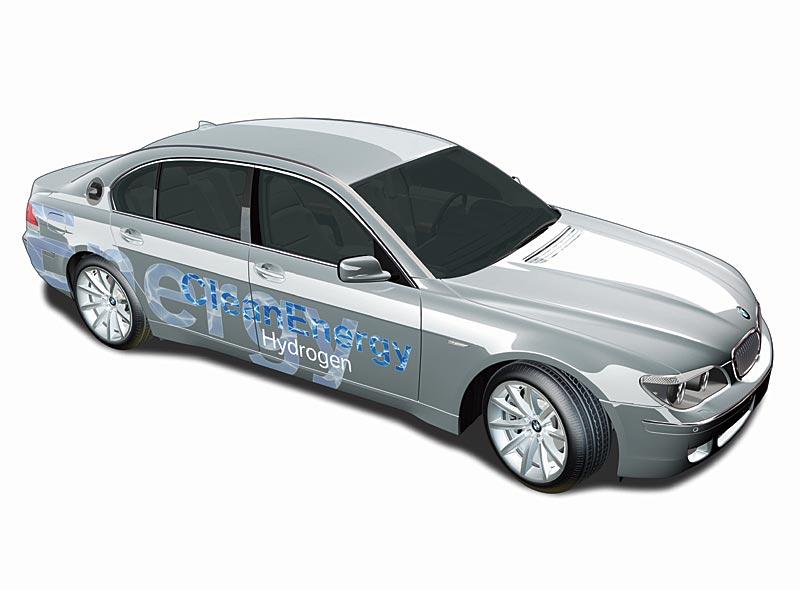 BMW Hydrogen 7, Grafik
