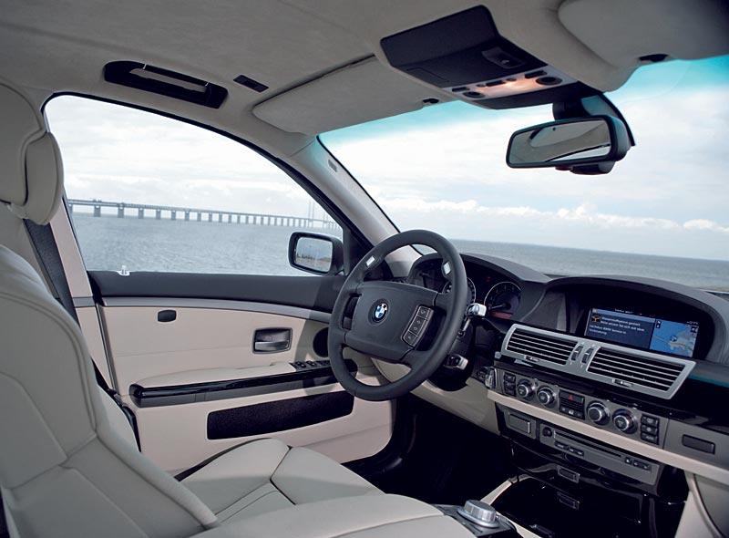 BMW Hydrogen 7, Innenraum