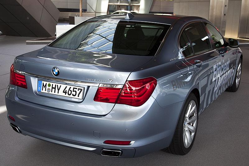 BMW 7er ActiveHybrid: noch im Jahr 2009 soll er Serienreife erlangen