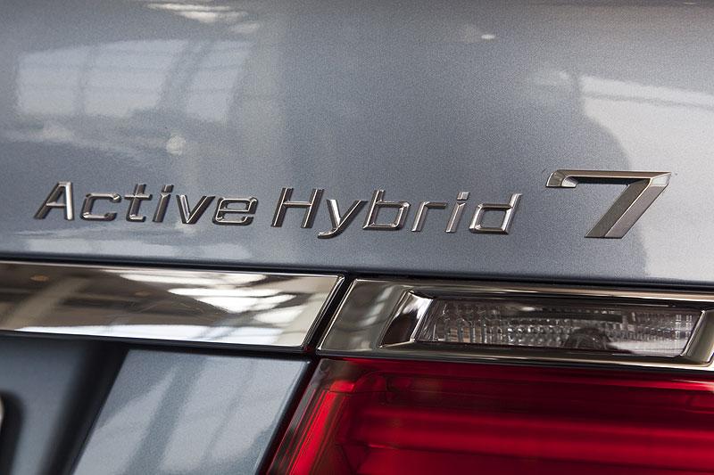 BMW 7er ActiveHybrid: in Serie wird wohl BMW 755ih heißen
