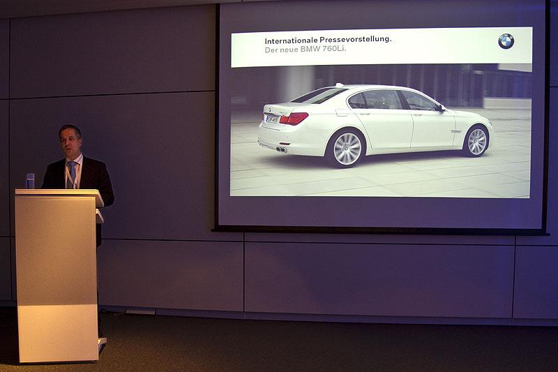 Internationale Presse-Präsentation des neuen BMW 760i in der BMW Welt München