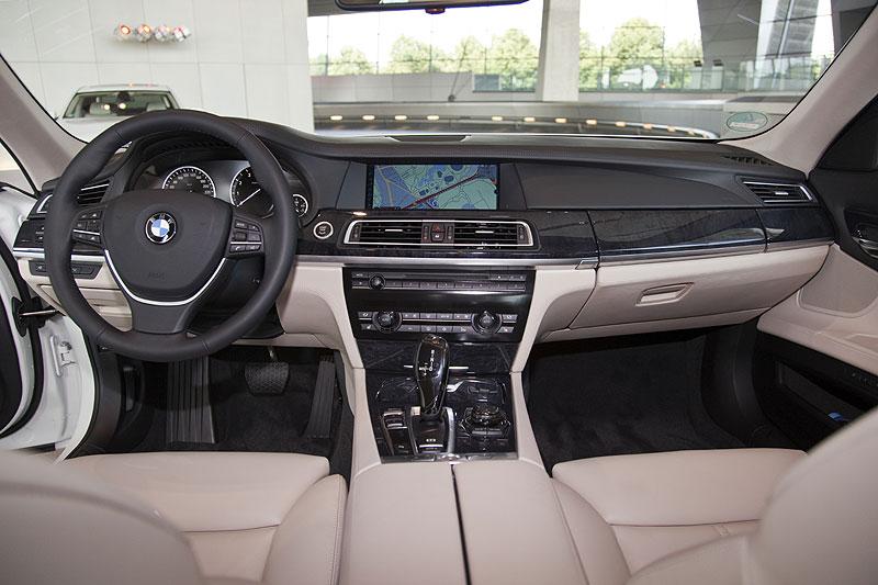 BMW 760Li, Innenraum