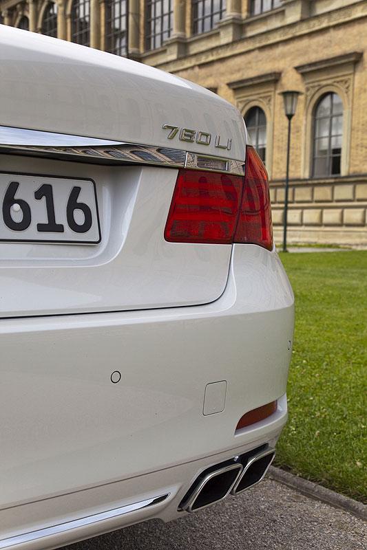 BMW 760Li (F02) in München