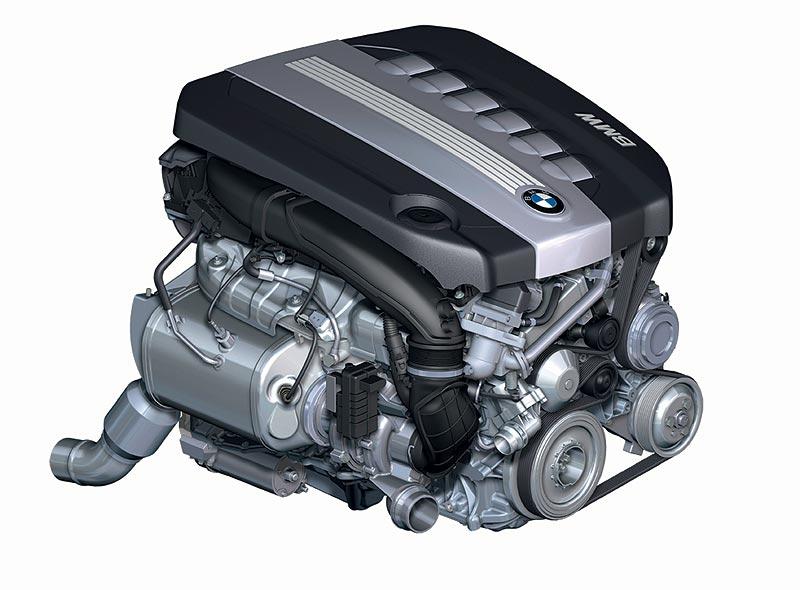 foto bmw 6 zylinder dieselmotor mit aluminium kurbelgeh use und 1800 bar piezo einspritzung. Black Bedroom Furniture Sets. Home Design Ideas