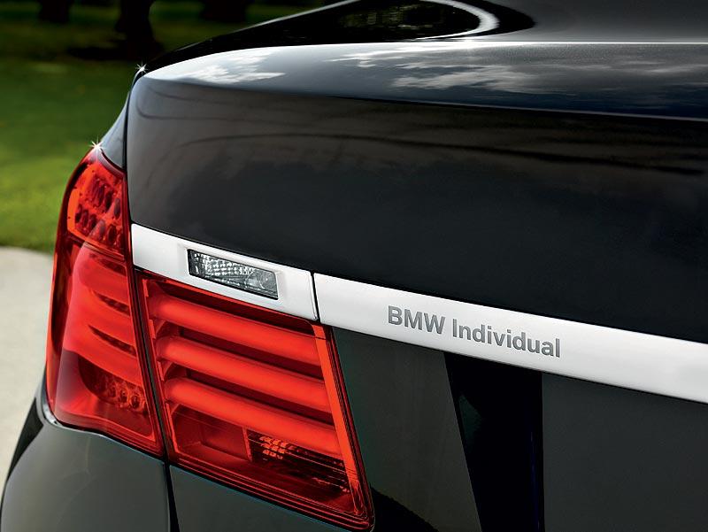 Der neue BMW 7er, BMW Individual