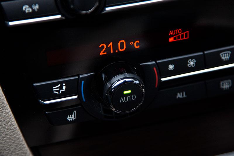 BMW ActiveHybrid 7, Klima-Anlage