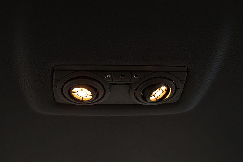 BMW ActiveHybrid 7, Individual-Leseleuchten im Fond